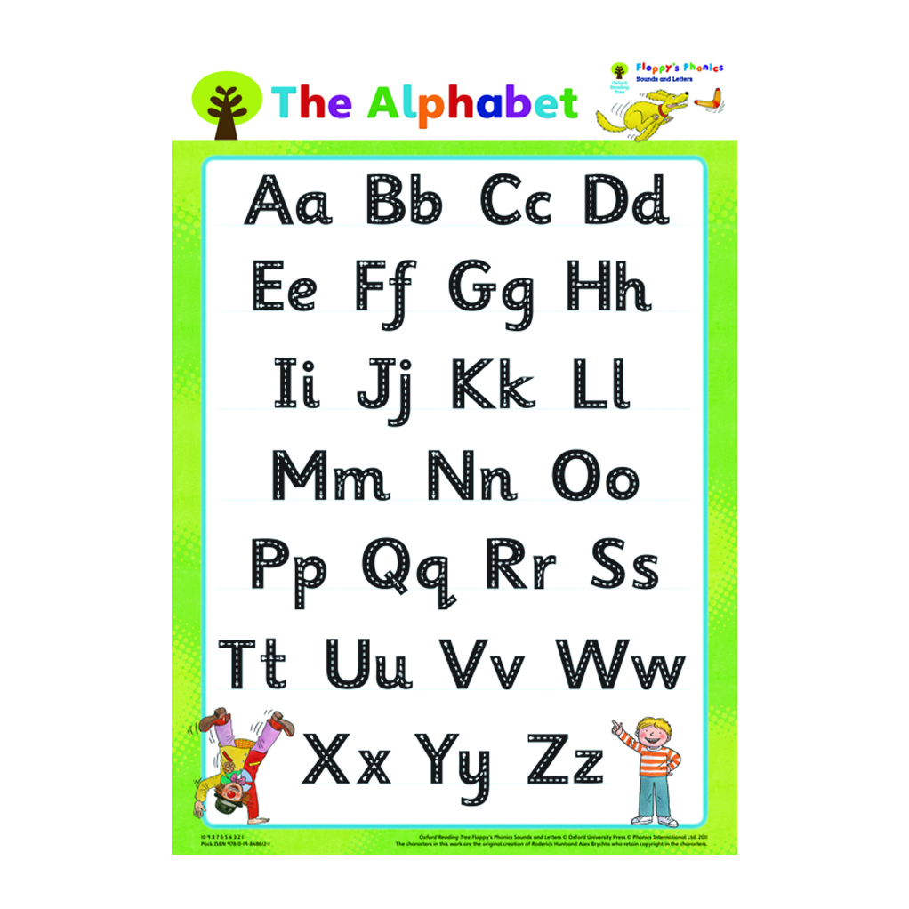 Oxford Reading Tree: Floppy's Phonics: Mixed Poster Pack